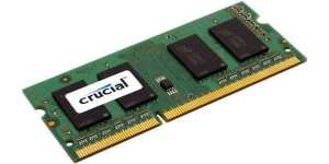 Pamięć DDR3 Crucial SODIMM 8GB 1600MHz CL11 Low Voltage 1,35V
