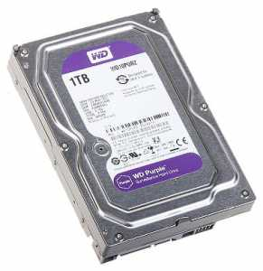 DYSK DO REJESTRATORA HDD-WD10PURZ 1TB 24/7 WESTERN DIGITAL